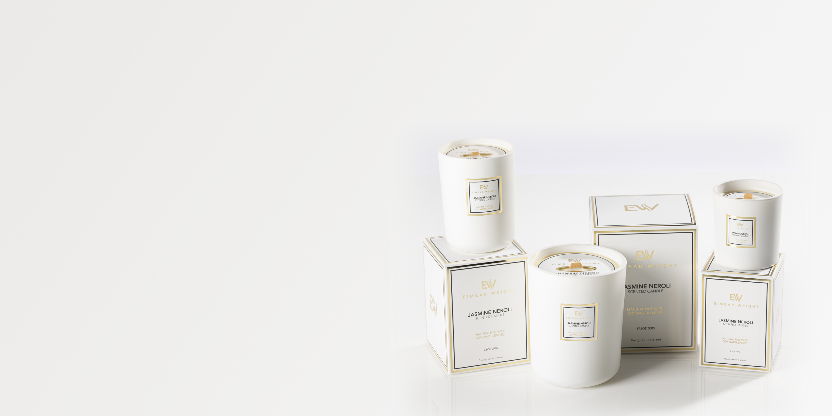 Luxury candle & diffuser range: