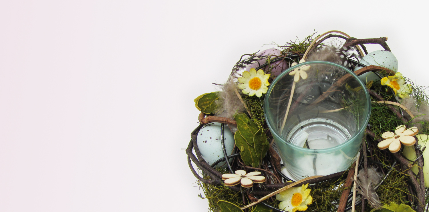Candle Holders & Easter Decorations: